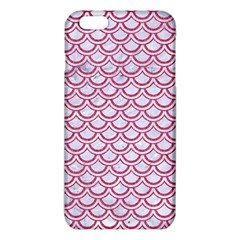 Scales2 White Marble & Pink Denim (r) Iphone 6 Plus/6s Plus Tpu Case by trendistuff