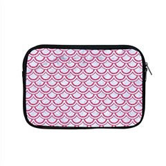 Scales2 White Marble & Pink Denim (r) Apple Macbook Pro 15  Zipper Case