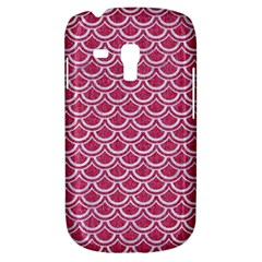 Scales2 White Marble & Pink Denim Galaxy S3 Mini