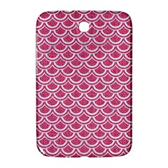 Scales2 White Marble & Pink Denim Samsung Galaxy Note 8 0 N5100 Hardshell Case