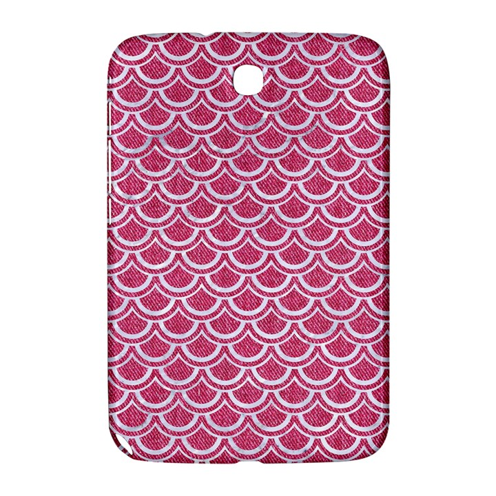 SCALES2 WHITE MARBLE & PINK DENIM Samsung Galaxy Note 8.0 N5100 Hardshell Case