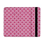 SCALES2 WHITE MARBLE & PINK DENIM Samsung Galaxy Tab Pro 8.4  Flip Case Front