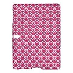 Scales2 White Marble & Pink Denim Samsung Galaxy Tab S (10 5 ) Hardshell Case