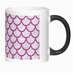 SCALES1 WHITE MARBLE & PINK DENIM (R) Morph Mugs Right