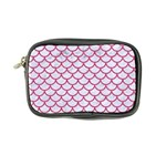 SCALES1 WHITE MARBLE & PINK DENIM (R) Coin Purse Front