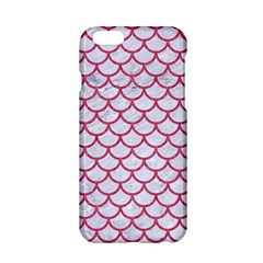 Scales1 White Marble & Pink Denim (r) Apple Iphone 6/6s Hardshell Case