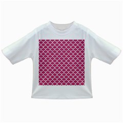 Scales1 White Marble & Pink Denim Infant/toddler T Shirts