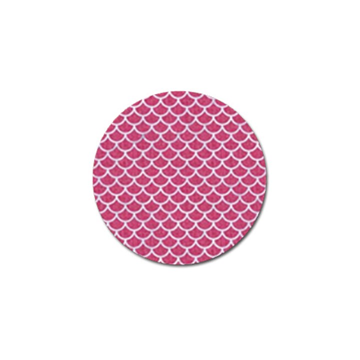 SCALES1 WHITE MARBLE & PINK DENIM Golf Ball Marker (10 pack)