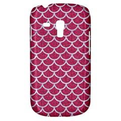 Scales1 White Marble & Pink Denim Galaxy S3 Mini