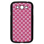 SCALES1 WHITE MARBLE & PINK DENIM Samsung Galaxy Grand DUOS I9082 Case (Black) Front
