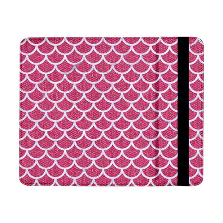 SCALES1 WHITE MARBLE & PINK DENIM Samsung Galaxy Tab Pro 8.4  Flip Case