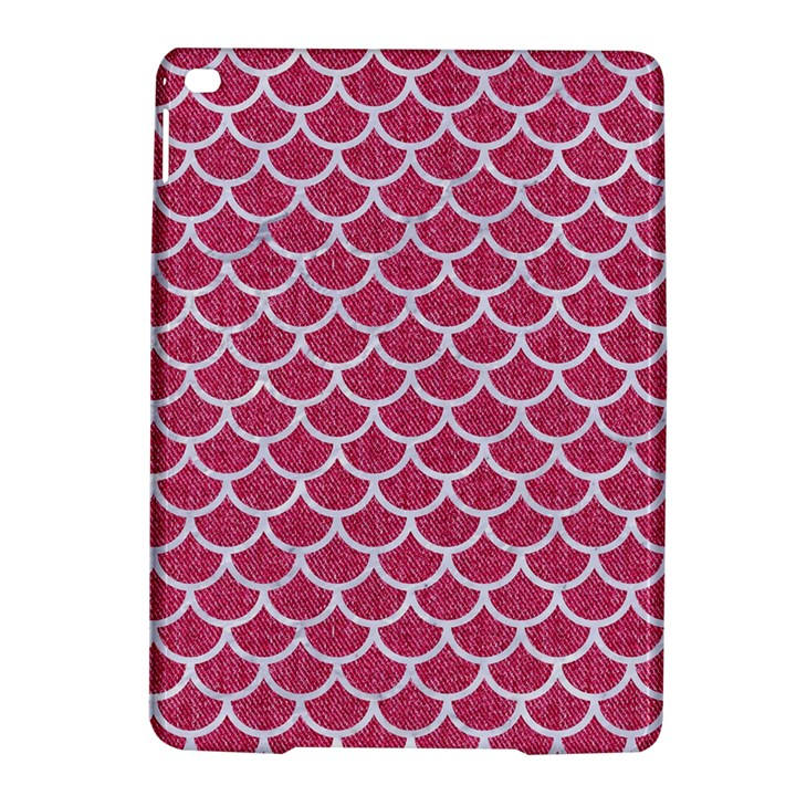 SCALES1 WHITE MARBLE & PINK DENIM iPad Air 2 Hardshell Cases