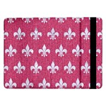 ROYAL1 WHITE MARBLE & PINK DENIM (R) Samsung Galaxy Tab Pro 12.2  Flip Case Front