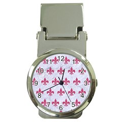 ROYAL1 WHITE MARBLE & PINK DENIM Money Clip Watches