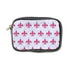 ROYAL1 WHITE MARBLE & PINK DENIM Coin Purse Front
