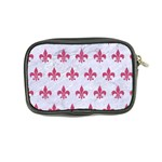 ROYAL1 WHITE MARBLE & PINK DENIM Coin Purse Back
