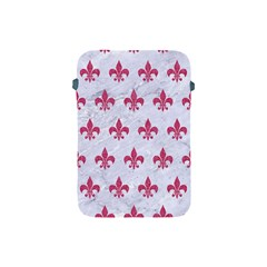 ROYAL1 WHITE MARBLE & PINK DENIM Apple iPad Mini Protective Soft Cases
