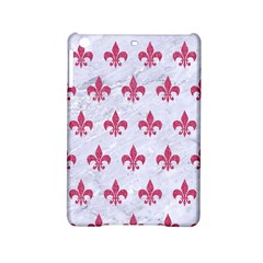 ROYAL1 WHITE MARBLE & PINK DENIM iPad Mini 2 Hardshell Cases