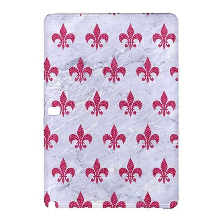 ROYAL1 WHITE MARBLE & PINK DENIM Samsung Galaxy Tab Pro 12.2 Hardshell Case