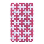 PUZZLE1 WHITE MARBLE & PINK DENIM Memory Card Reader Front