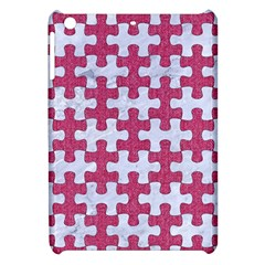 Puzzle1 White Marble & Pink Denim Apple Ipad Mini Hardshell Case