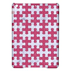 Puzzle1 White Marble & Pink Denim Ipad Air Hardshell Cases