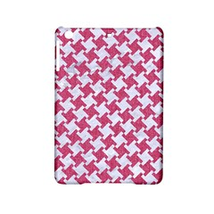 Houndstooth2 White Marble & Pink Denim Ipad Mini 2 Hardshell Cases