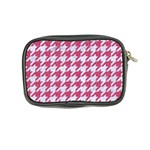 HOUNDSTOOTH1 WHITE MARBLE & PINK DENIM Coin Purse Back