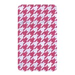 HOUNDSTOOTH1 WHITE MARBLE & PINK DENIM Memory Card Reader Front