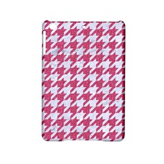 Houndstooth1 White Marble & Pink Denim Ipad Mini 2 Hardshell Cases by trendistuff