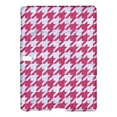 HOUNDSTOOTH1 WHITE MARBLE & PINK DENIM Samsung Galaxy Tab S (10.5 ) Hardshell Case