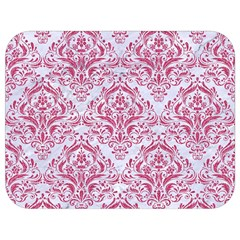 Damask1 White Marble & Pink Denim (r) Full Print Lunch Bag by trendistuff