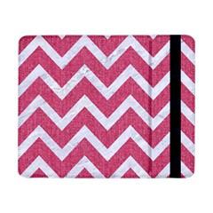 Chevron9 White Marble & Pink Denim Samsung Galaxy Tab Pro 8 4  Flip Case