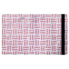 Woven1 White Marble & Pink Glitter (r) Apple Ipad Pro 9 7   Flip Case