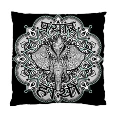 Ornate Hindu Elephant  Standard Cushion Case (two Sides) by Valentinaart