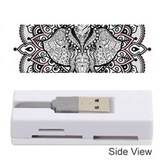 Ornate Hindu Elephant  Memory Card Reader (stick)  by Valentinaart