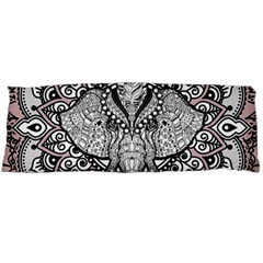 Ornate Hindu Elephant  Body Pillow Case (dakimakura) by Valentinaart
