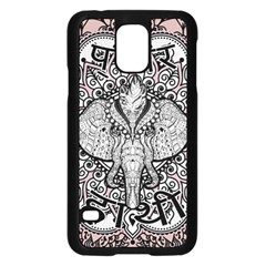 Ornate Hindu Elephant  Samsung Galaxy S5 Case (black) by Valentinaart