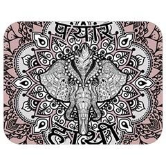 Ornate Hindu Elephant  Full Print Lunch Bag by Valentinaart