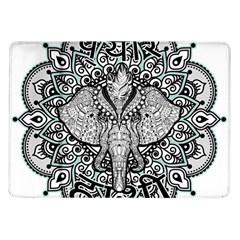 Ornate Hindu Elephant  Samsung Galaxy Tab 10 1  P7500 Flip Case by Valentinaart