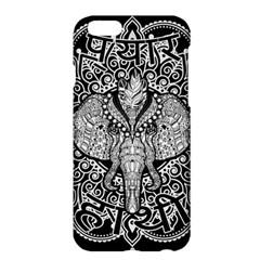 Ornate Hindu Elephant  Apple Iphone 6 Plus/6s Plus Hardshell Case by Valentinaart