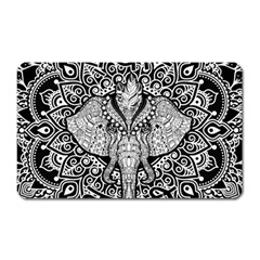 Ornate Hindu Elephant  Magnet (rectangular) by Valentinaart