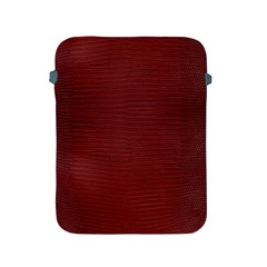 Red Lizard Leather Print Apple Ipad 2/3/4 Protective Soft Cases