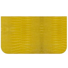 Yellow Alligator Skin Lunch Bag by LoolyElzayat