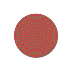 Crazy Retro Pattern Magnet 3  (round)