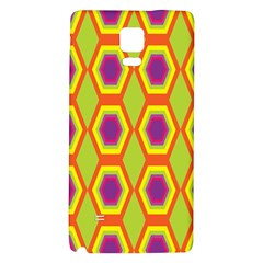 Geometric Retro Pattern Galaxy Note 4 Back Case by goodart