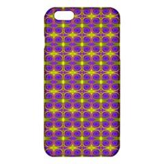 Purple Yellow Swirl Pattern Iphone 6 Plus/6s Plus Tpu Case by BrightVibesDesign