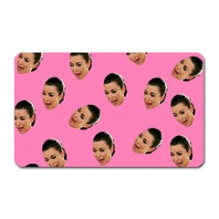 Crying Kim Kardashian Magnet (rectangular)