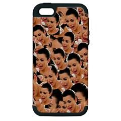 Crying Kim Kardashian Apple Iphone 5 Hardshell Case (pc+silicone)