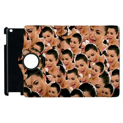 Crying Kim Kardashian Apple Ipad 2 Flip 360 Case by Valentinaart